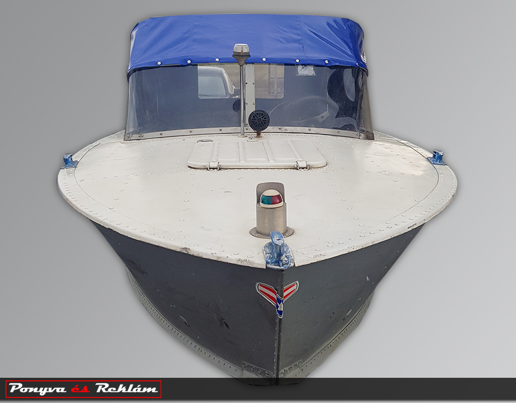 Hajófülke ponyvázás
