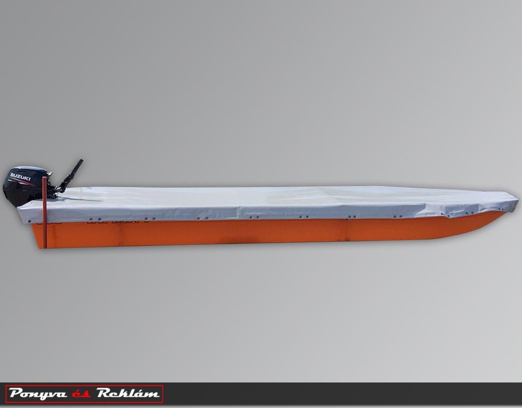 Csónak ponyvázás