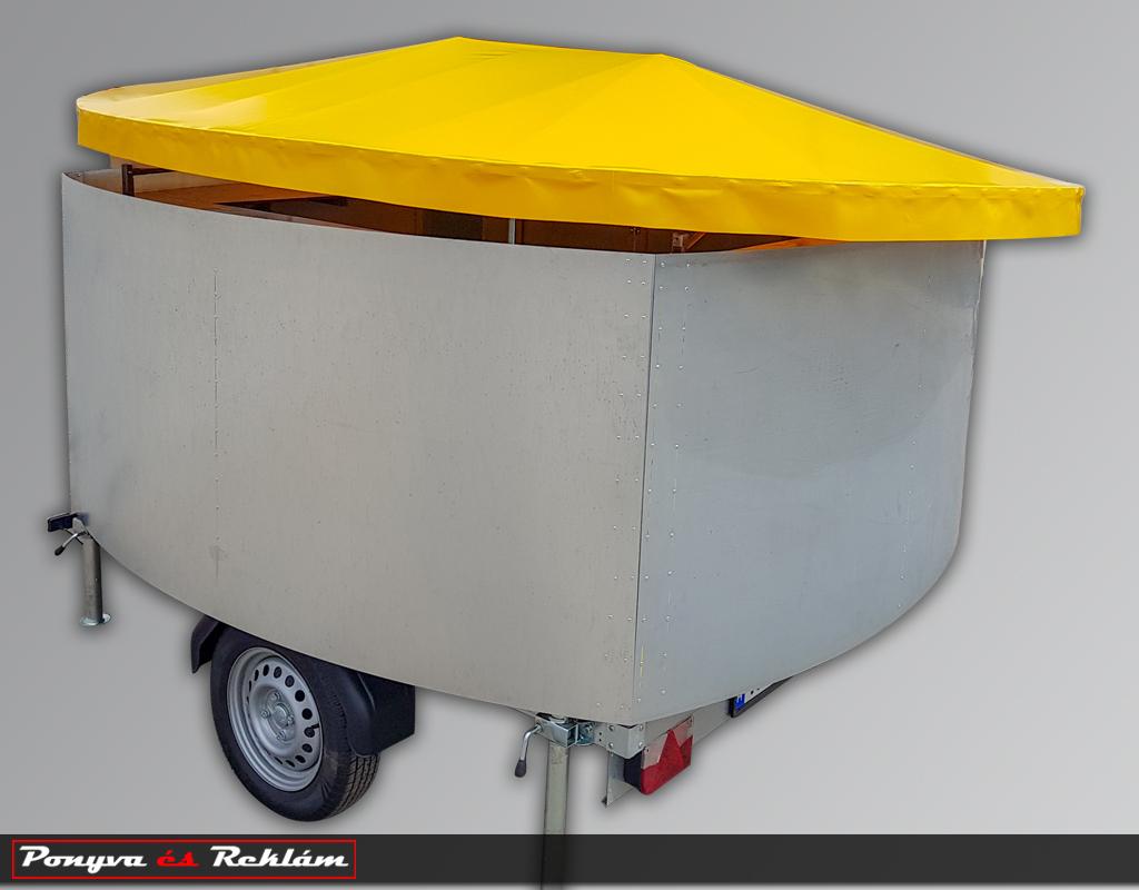 Mobil bár tetőponyva